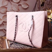 CHANEL NEW STYLE WOMEN LEATHER CHAIN SHOPPING BAG