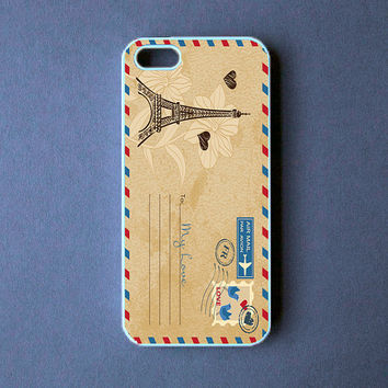 Iphone 5 Case - Vintage PostCard Iphone 5 Cover