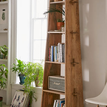 Riley Wooden Bookshelf | Urban Outfitters