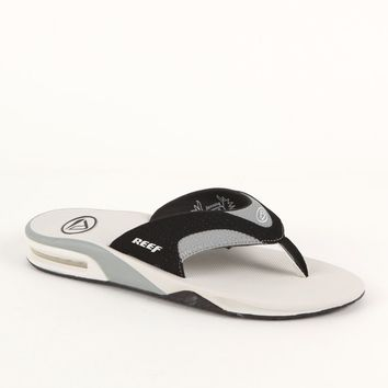 Reef Fanning White Sandals - Mens Sandals - White