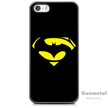 Superman and Batman iPhone 5/5s Case - mobile phone cover