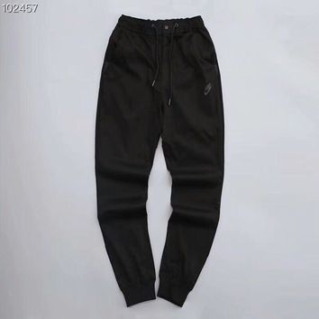 KUYOU N370 Nike is still bursting with cotton and casual pants Black