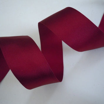 "wired ribbon Crimson Tide Red Ribbon Valentine Scrapbooking Wedding Shower Party Decoration make gift wrap ribbon satin ribbon 1.5"" 5yd"