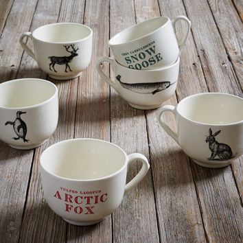 Sir/Madam Fauna Grand Two-Sided Mugs