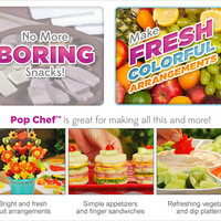Pop Chef™ - The quick & easy way to make unique, fun snacks!