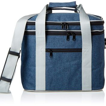 PuTwo Lunch Bag 12L Insulated Lunch Bag Lunch Box Lunch Bags for Women Lunch Bag for Men Cooler Bag with YKK Zip and Adjustable Shoulder Strap Lunch Cooler Lunch Tote for Kids Lunch Pail - Blue