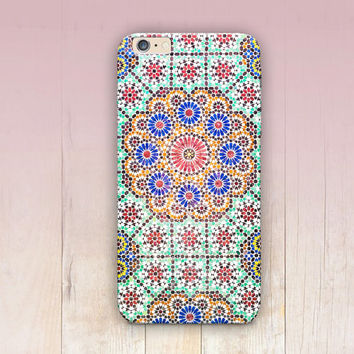 Exotic Tile Phone Case For - iPhone 6 Case - iPhone 5 Case - iPhone 4 Case - Samsung S4 Case - iPhone 5C - Tough Case - Matte Case