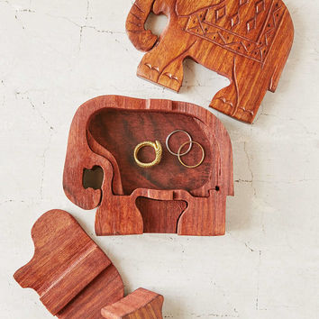 Elephant Puzzle Stash Box - Urban Outfitters