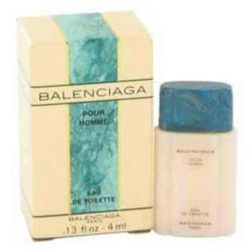 balenciaga pour homme cologne by balenciaga for men mini edt 13 oz 2