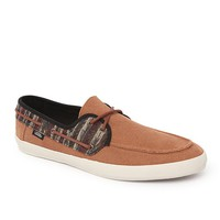 Vans Chauffeur Striped Shoes - Mens Shoes - Brown