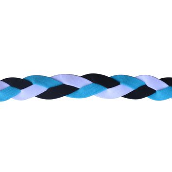 Softball No Slip Grip Headband- Turquoise