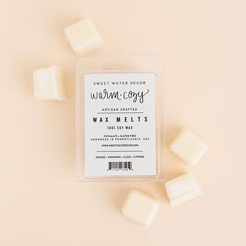 Warm and Cozy Wax Melts