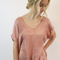 Tie The Knot Blush Top