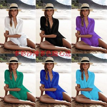 Saida De Praia Pareo Beach Cover Up Robe De Plage Kaftan Beach Wear Swimwear Women Summer Dress Kaftan Bathing Suit Cover Ups