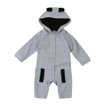 New Newborn Clothes Fox Baby Boy Girl Romper Long Sleeve one piece suit baby clothing jumpsuit Infant Product