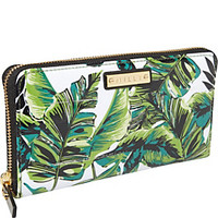 Milly Banana Leaf Print Zip Around Wallet - eBags.com