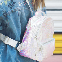 Color Me Metallic Backpack