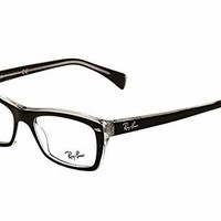 Ray-Ban Glasses Ray Ban Eyeglasses frame RX 5255 RX5255 2034 Acetate Black