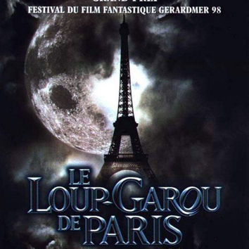 An American Werewolf in Paris (French) 11x17 Movie Poster (1997)