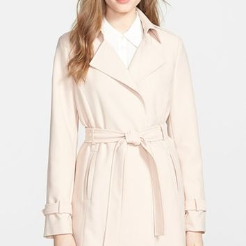 Women's T Tahari 'Daphine' Belted Trench Coat