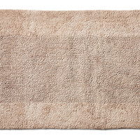 Bamboo Collection Bath Rug, Sandstone, Rugs