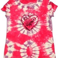Flapdoodles - Girls Short Sleeve Tie Dyed T-Shirt:Amazon:Clothing