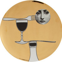 Fornasetti Theme & Variations Decorative Plate #137