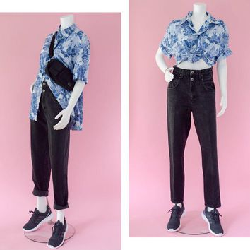 80s High Waisted Mom Jeans Women's Size 8