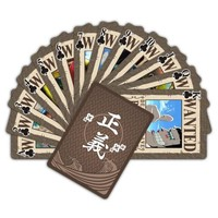 One Piece Wanted Anime Playing Cards