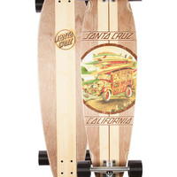 Santa Cruz Cali Pintail Cruzer Longboard Multi One Size For Men 26545795701