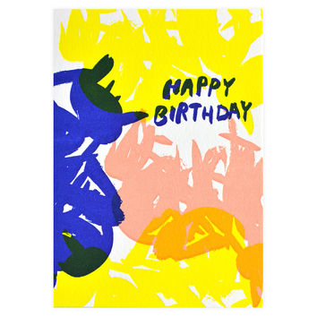 Scribble Birthday Card