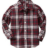 Gap Baby Factory Plaid Shirt