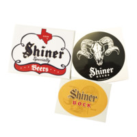 Shiner Sticker Variety Pack - 3