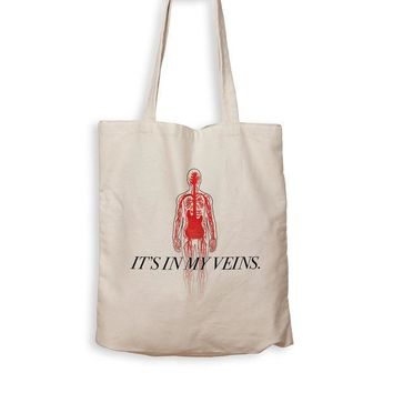 CREYMS2 Bass Guitar Is In My Veins - Tote Bag