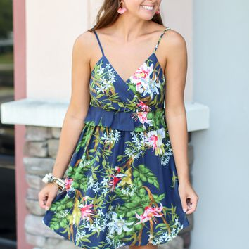 Take It To The Tropics Dress