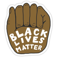 'Black Lives Matter' Sticker by sarahsamps