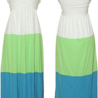TRIXXI Halter Jersey Maxi Dress