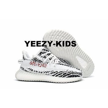 ADIDAS YEEZY BOOST 350 V2 INFANT Zebra WHITE/CBLACK/RED BB6374 CP9396  TODDLER KIDS