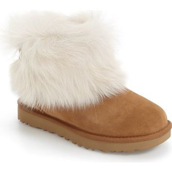 UGG® 'Valentina' Genuine Shearling Cuff Boot (Women) | Nordstrom