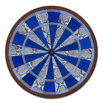 Python Leather Dartboard