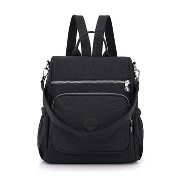 School Backpack trendy Fashion Women Waterproof Nylon Backpack Korean Style Designers Shoulder School Bag Kipled Style Leisure Rucksack For Girls AT_54_4