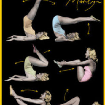 Marilyn Monroe (Working Out) Movie Poster Print Posters at AllPosters.com