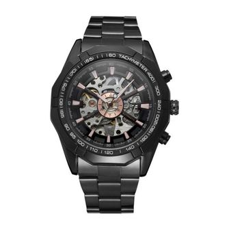 Automatic Luxury Transparent Skeleton Mechanical Watch