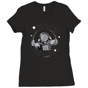 space Ladies Fitted T-Shirt