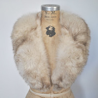 Fox Fur Collar / silver Norwegian