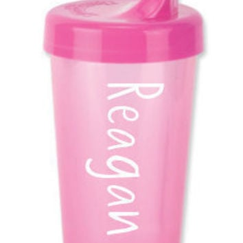 Personalized Spill Proof Sippy Cup - Pink