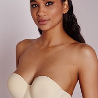 Missguided - Kaley Strapless Backless Bra Nude D