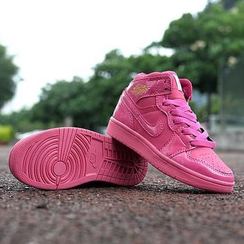 Nike Jordan Girls Boys Children Baby Toddler Kids Child Breathable Sneakers Sport Shoe