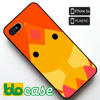 Flame Princess Iphone 5S Plastic Case