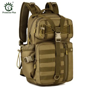 Protector Plus Outdoor Molle 30L Sport Bags Tactical Bag Military Backpack Fishing Hunting Camping Hiking Tactical Rucksack